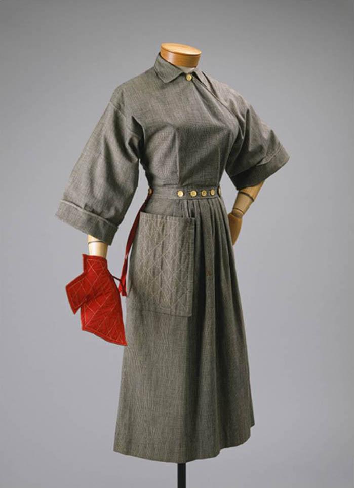 Claire Mc Cardell modello grembiule anni 50.