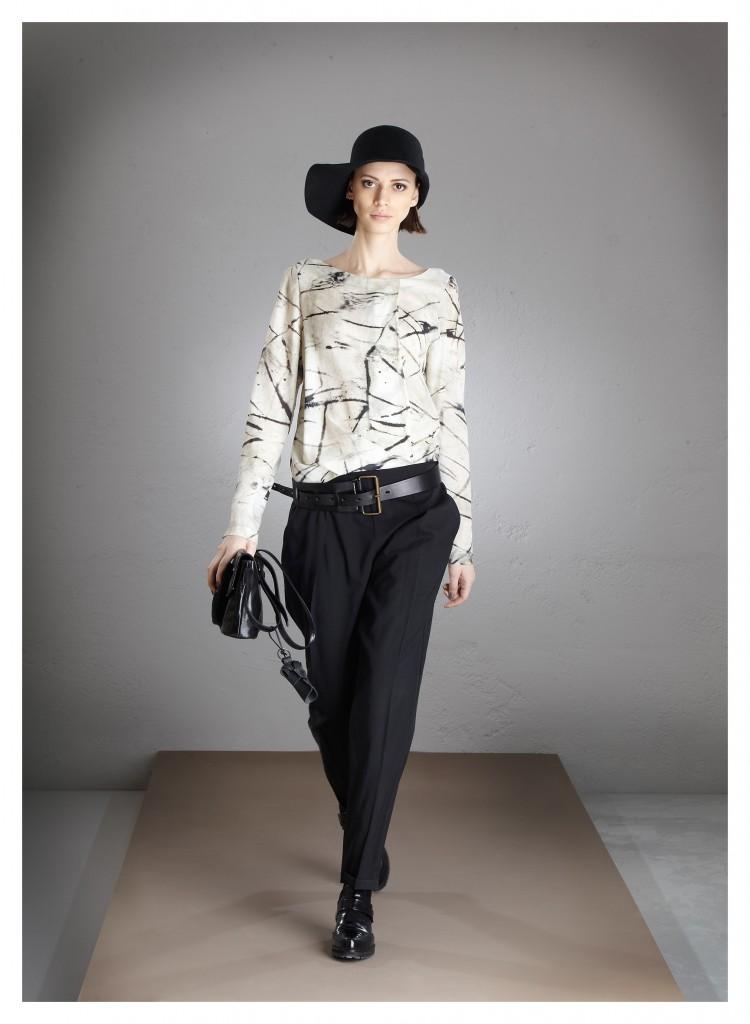 pantalone e blusa