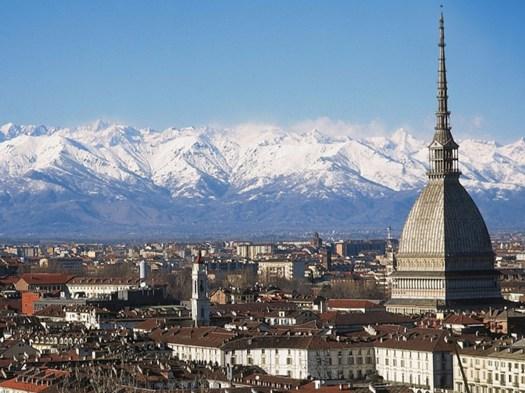 Torino City of Design 2015. Veduta panoramica della città di Torino