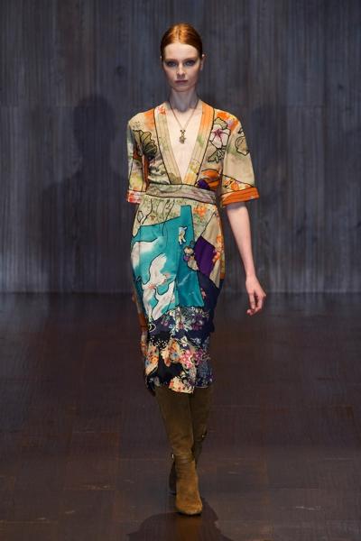 tendenza oriente per la primavera estate di Gucci