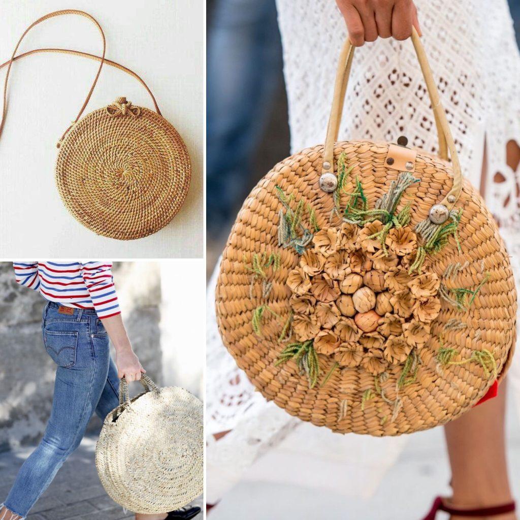 Chicchissima bamboo bag e borse di paglia